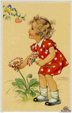 pintura de niñita