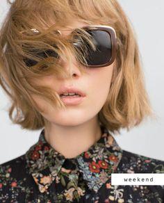 #zara# sunglasses #haircut#