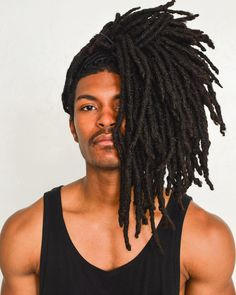 Dreadlocks Styles for Men to Try Out Dreadlock Hairstyles For Men, Kids Braided Hairstyles, Cool Hairstyles, Dreadlocks Men, Bob Marley, Style Afro, Septum, Hair Addiction, Hair Photo