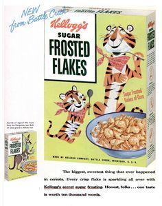 1953 Life Magazine – Kellogg's Sugar Frosted Flakes