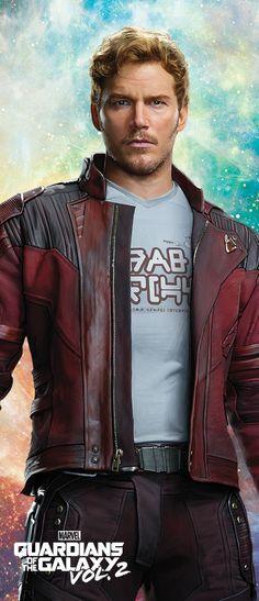 Peter Quill/Star-Lord (Chris Pratt/Guardians of the Galaxy Vol. 2)