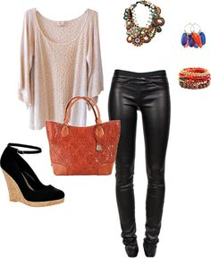 """""""Ethnic Neutrals"""" by salmonrose on Polyvore"""