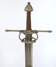 European Sword Dated: circa 1570 Maker: Miguel Cantero Culture:...
