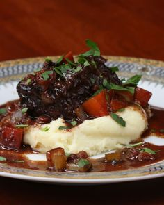 Cabernet-Braised Short Ribs As Made By Chef Wolfgang Puck