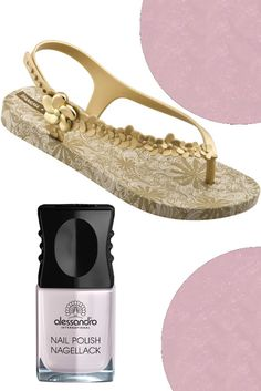 bc60012fd25 Ipanema Gisele Bündchen Flower sandal - gold and Sugar Icing Nr. Was  Schickes