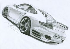 Porsche 911 Sketch
