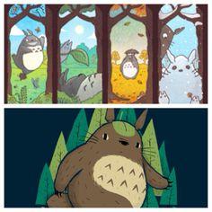 Spirit of Seasons and Totorofoot