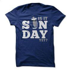 Is it Sunday yet? - Football shirt - #country shirt #swetshirt sweatshirt. I WANT THIS => https://www.sunfrog.com/Sports/Is-it-Sunday-yet--Football-shirt.html?68278