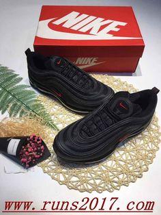 online store e7775 0fa56 Nike Air Max 97 OG QS Black Logo Red http   feedproxy.google