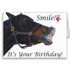 Horse birthday wish