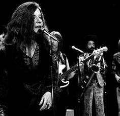 Janis Joplin.  She looked like she sounded.  Wild, vulnerable and totally in the keeping of a power that passed through her but that she did not ever really learn to control.