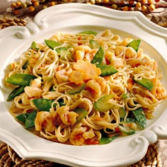 Shirataki Zero calories noodles can be used for atir frys or pasta dishes.... Shrimp Lo Mein