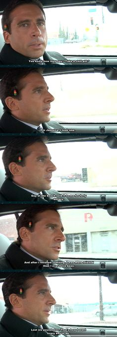 And found the deeper meaning of everyday things. | The 37 Wisest Things Michael Scott Ever Said