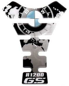 Details about MOTORCYCLE TANK PAD PROTECTOR SHIELD LOGO R 1200 GS R1200GS $20