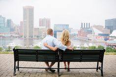 Baltimore, Maryland Engagement Session | Federal Hill | Christa Rae Photography