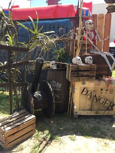 Preschool Pirate Theme, Pirate Activities, Pirate Halloween Decorations, Pirate Decor, Toy Story Party, Toy Story Birthday, Pirate Birthday, Pirate Party, Pirate Island