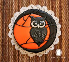 Halloween Owl Cookie