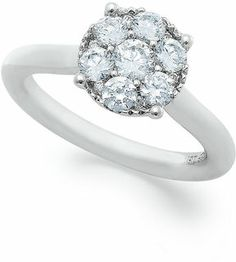 White Gold Certified Diamond Engagement Ring