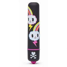 Mini-Vibrator mit Bunny-Aufdruck - denn nicht nur Häschen rammeln gerne!