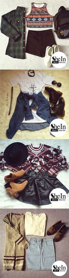 Upgrade winter wardrobe with fashion-forward pieces. -SheIn