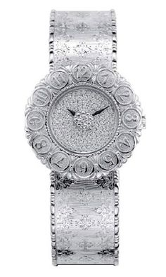 by Lori Novo | Watches | Buccellati Eliochron White-Gold Watch with diamonds