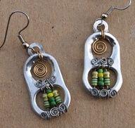 poptab earrings