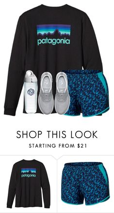 """""""Done with the male species"""" by emmagracejoness ❤ liked on Polyvore featuring Patagonia, NIKE and Tervis"""