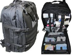 Fully Stocked Stomp Medical First Aid Kit Back Pack $374.95