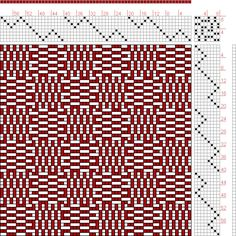 Hand Weaving Draft: Page 109, Figure 2, Textile Design and Color, William Watson, Longmans, Green & Co., 8S, 8T - Handweaving.net Hand Weaving and Draft Archive