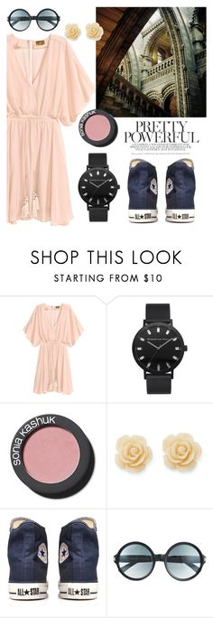 """Romantic mood"" by lena-ki ❤ liked on Polyvore featuring Sonia Kashuk, Draper James, Converse and Tom Ford"