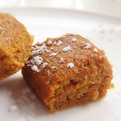 healthy pumpkin squares and other healthy fall foods