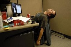 7 Ways to Lean It UP at work -- sedentary desk jobs are absolutely HORRIBLE for your health. Here are 7 quick and easy ways to infuse a little fitness into your 9 to 5