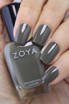 Zoya Charli, Focus Fall Collection 2015 grape fizz nails