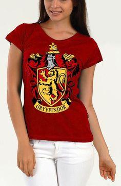 Harry Potter Gryffindor Claret Red Women T-shirt