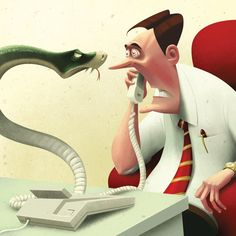 Editorial, Commercial and Personal Projects by Denis Zilber, via Behance. i love the expressions on this!