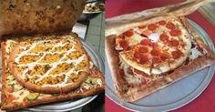 Découvrez la première boîte à pizza comestible !