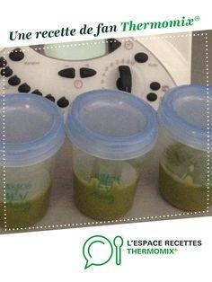 Purée de haricots verts. Bébé à partir de 4 mois. par Clémence2137. Une recette de fan à retrouver dans la catégorie Alimentation pour nourrissons sur www.espace-recettes.fr, de Thermomix<sup>®</sup>.