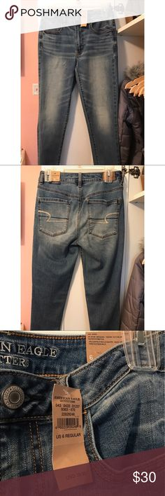 Brand new American Eagle jeans These size 6 jeans from American Eagle have never been worn! American Eagle Outfitters Jeans Skinny