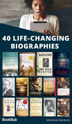 The 40 Best Biographies You May Not Have Read Yet 40 of the best biographies of all time, including a great list of inspiring and motivational nonfiction books! The 40 Best Biographies You May Not Have Read Yet Best Books To Read, Good Books, My Books, Best Books Of All Time, Books To Read Before You Die, Books To Read For Women, Sci Fi Books, Book Challenge, Reading Challenge