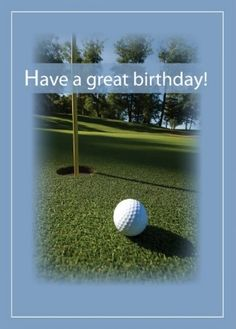 Happy Birthday - Golf - o. for man - Custom edit by lechezz Happy Birthday Golf, Golf Birthday Cards, Ball Birthday, Happy Birthday Pictures, Happy Birthday Messages, Happy Birthday Greetings, Birthday Board, Birthday Photos, Birthday Memes
