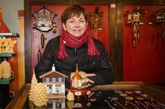 @olivwinston  at the #Denver Christkindl Market, a miniature German Christmas village, complete with shops, beer hall and oompah band. All photos by Ken Hamblin. Published on December 3, 2014