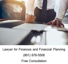 Lawyer for Finances and Financial Planning