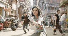 A gallery of Alita: Battle Angel publicity stills and other photos. Featuring Rosa Salazar, Christoph Waltz, Keean Johnson, Jennifer Connelly and others. Christoph Waltz, James Cameron, Best Movies Of 2019, Good Movies On Netflix, Mahershala Ali, Battle Angel Alita, Avatar, Hindi Movies, Keean Johnson