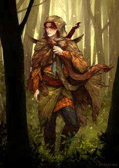 Kvothe (The Kingkiller Chronicle) by rynisyou | NOT OUR ART - Please click artwork for source | WRITING INSPIRATION for Dungeons and Dragons DND Pathfinder PFRPG Warhammer 40k Star Wars Shadowrun Call of Cthulhu and other d20 roleplaying fantasy science fiction scifi horror location equipment monster character game design | Create your own RPG Books w/ www.rpgbard.com