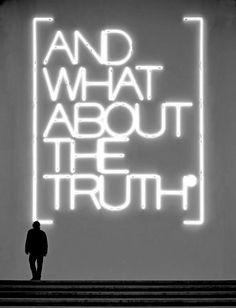 Maurizio NANNUCCI :: And what about the truth, Palazzo della Triennale, Milan, 2006