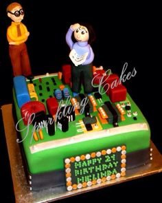 Electrical Engineer Cake Design : 1000+ images about Dad on Pinterest 60th birthday party ...