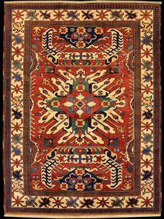 Caucasian Karabagh Chelaberd rug, Antique Rugs of the Future Project, Azerbaijan
