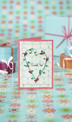 Quilling: a bonus card design for you! | Papercraft Inspirations