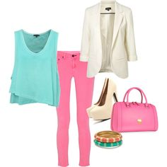 Not exactly my style but I love the colors! Wish I could pull it off...and afford it.