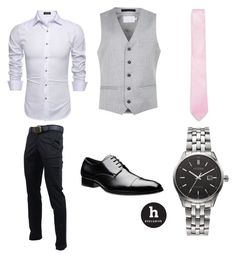 """Summer Wedding Attire"" by erinakruger on Polyvore featuring Topman, Citizen, men's fashion and menswear"